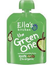 Ella´s Kitchen roheline puuviljapüree 90 g, öko, alates 6-elu...