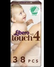 Libero püksmähkmed Touch 4, 7-11 kg, 38 tk