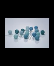 Decora 16 leediga 4 cm pallidega valgustikomplekt, sinine/tür...