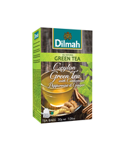 Roheline tee kaneeli, ingveri ja piparmündi 20 x 1,5 g