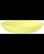 Taldrik 23,5 cm, kollane plast