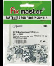 Plekikruvi KFR  4,2X13 60 tk, valge
