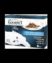 Täissööt kassidele, neli erinevat valikut 8 × 85 g