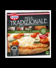 Mozzarella-pesto pitsa, 370 g