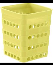 Söögiriistade hoidja torka kollane