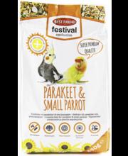 Täistoit keskmise suurusega ja väikestele papagoidele 80 g