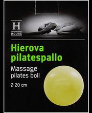 Masseeriv Pilatese pall 20 cm, sinine