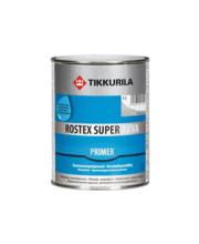 Korrossioonivastane kruntvärv ROSTEX SUPER AKVA 1L tumehall