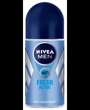 Rulldeodorant fresh active 48h 50 ml