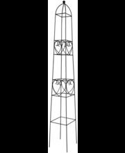 Obelisk House, 145 cm, teras, must