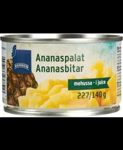 Ananassitükid omas mahlas 227/137 g