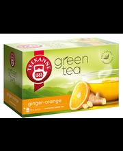 Roheline tee ingveri ja apelsini 20 x 1,75 g