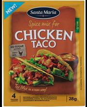 Taco maitseainesegu kanale 28 g
