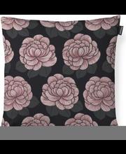Padjakate Sylvi 48x48 cm, must/roosa