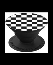 Nutiseadmepide ja -statiiv PopSockets, Checkers Black