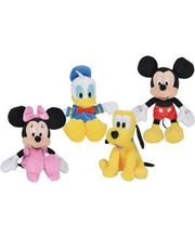 Pehmed mänguasjad Miki, Minni, Piilupart Donald
