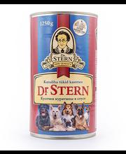 Dr.Stern konserv koertele kanaliha tükid kastmes 1,25kg