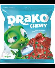 Kalev Draakon maasikamaitseline närimiskompvekid 110 g