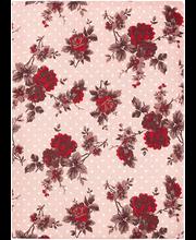 Laudlina Midnight garden 145x250 cm, roosa