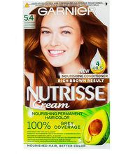 Juuksevärv Nutrisse 5.4 Copper Brown