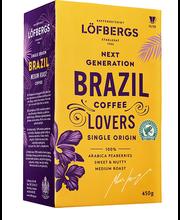 Löfbergs jahvatatud kohv Brazil 450g