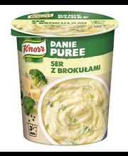 Kartulipüree juustu ja brokoliga 50 g