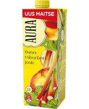 Aura õuna-rabarberijook 1l