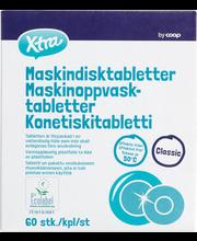 X-tra Classic nõudepesumasina tabletid 60 tk