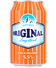 Hartwall Original LD Orange, 330ml