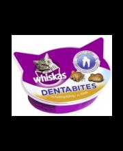 Whiskas DentaBites närimispallid kassidele kanalihaga, 40 g