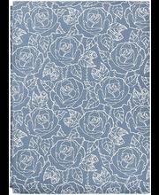 Laudlina Dusky rose 145x250 cm, sinine