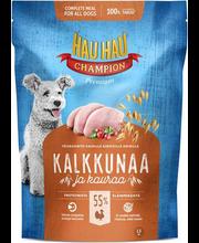 Hau-Hau Champion täissööt koertele kalkuniliha ja kaeraga, 1,...