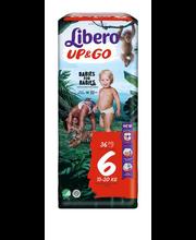 Libero Up&Go 6 Püksmähe 13-20kg 36 tk.