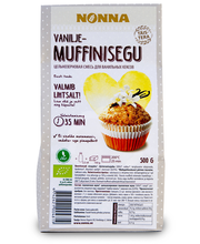 Öko vanilje muffinisegu 500 g
