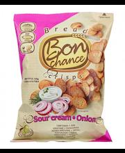 Bon Chance hapukoore-sibulamaitselised leivakrõpsud 120 g