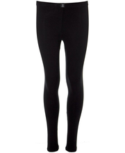 Tüdrukute pikad aluspüksid 230H311629 120 cm, must