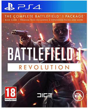 PS4 mäng Battlefield 1 Revolution