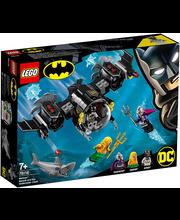 76116 Super Heroes Batmani allveelaev