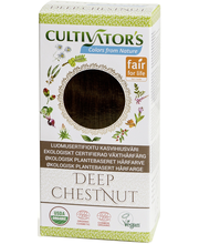 Taimne juuksevärv Deep Chestnut 100 g