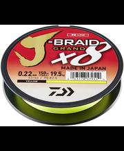 Õngenöör J-Braid Grand X8 22-135YEL
