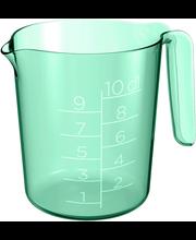Mõõtekann 1 l roheline
