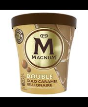 Jäätis Double Gold Caramel Billionaire, 440ml