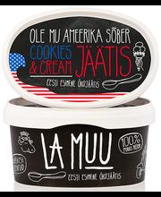 La Muu küpsisejäätis, öko, 400 g