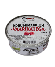 Vaarikatega kohupiimakreem, 100 g
