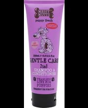 Messy Mutts palsamiga šampoon koertele, 250 ml