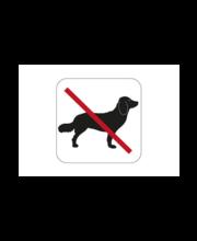 Habo koerte keelumärk, 80 x 80 mm