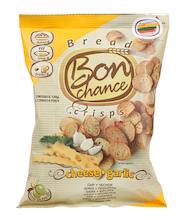 Bon Chance küüslaugu-juustumaitselised leivakrõpsud 120 g