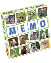 Lauamäng Memo loomalapsed