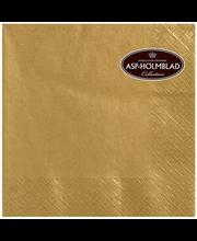 Salvrätik 25cm 20 tk, kuldne