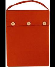 Voodipesukomplekt Aino 150x210 cm oranz